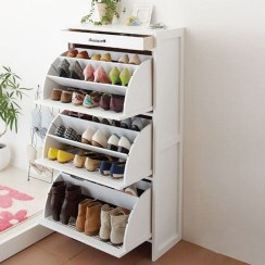 Awesome Shoe Storage Diy Projects For Small Spaces Ideas30