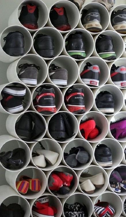 Awesome Shoe Storage Diy Projects For Small Spaces Ideas39