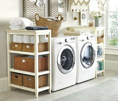 Beautiful Ideas For Tiny Laundry Spaces02