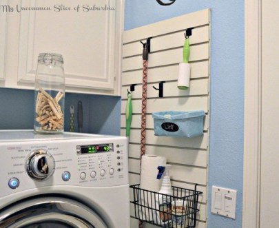 Beautiful Ideas For Tiny Laundry Spaces03