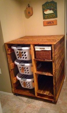 Beautiful Ideas For Tiny Laundry Spaces21
