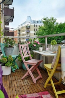 Decoration Of Balconies In Apartments That Inspire People34