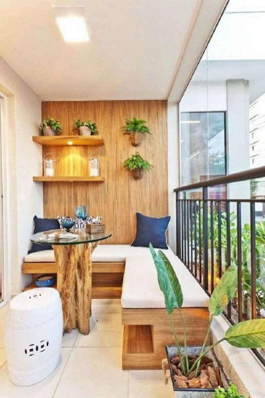 Decoration Of Balconies In Apartments That Inspire People37