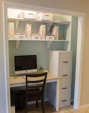 Diy Awesome Home Office Organizing Ideas25