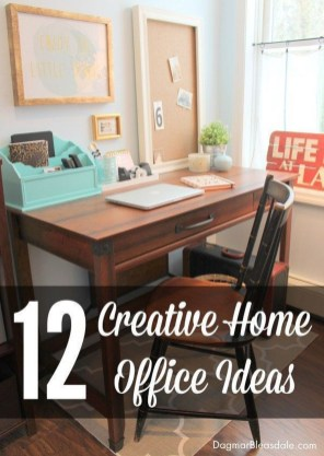 Diy Awesome Home Office Organizing Ideas33