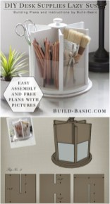 Diy Awesome Home Office Organizing Ideas38