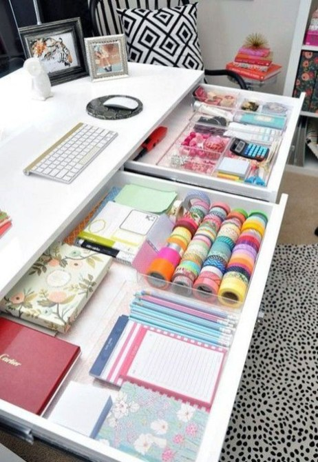 Diy Awesome Home Office Organizing Ideas50