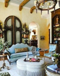 Extraordinary French Country Living Room Decor Ideas02