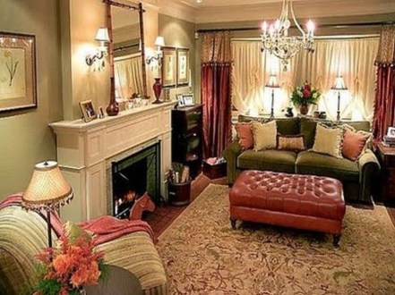 Extraordinary French Country Living Room Decor Ideas07