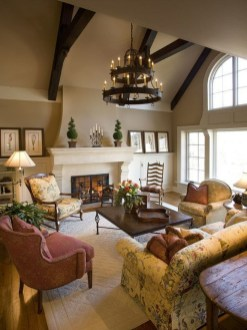 Extraordinary French Country Living Room Decor Ideas08