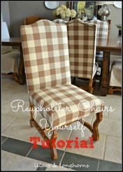 Luxury How To Reupholster Almost Anything28