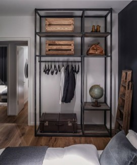 The Best Small Wardrobe Ideas For Your Apartment06
