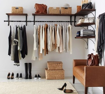 The Best Small Wardrobe Ideas For Your Apartment09