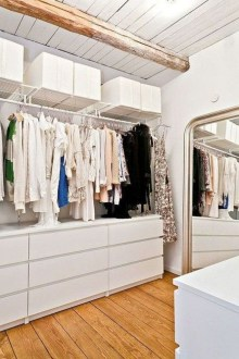 The Best Small Wardrobe Ideas For Your Apartment37