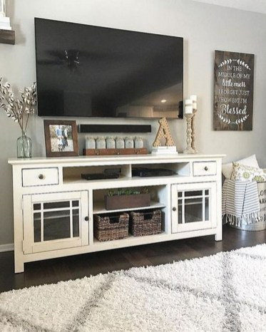 Top Fantastic Way To Hide Your Tv Diy Projects23