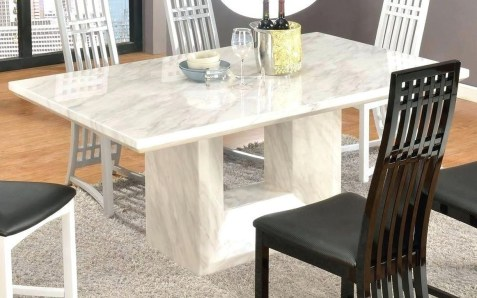 Awesome Granite Table For Dinning Room08