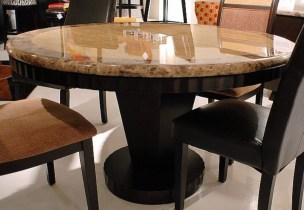 Awesome Granite Table For Dinning Room12