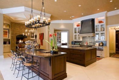 Best Double Kitchen Design Ideas For Cooking Easier06