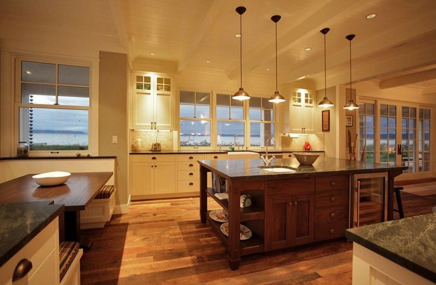 Best Double Kitchen Design Ideas For Cooking Easier47