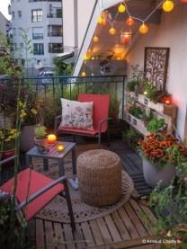 Gorgeous Flower On Balcony Ideas07