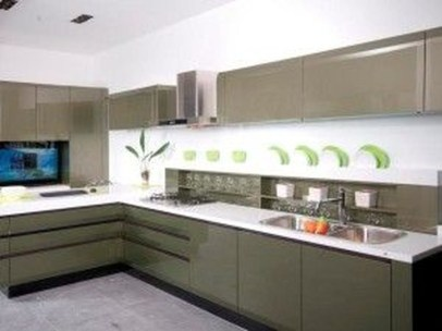 Lovely Aluminium Kitchen Decoration38