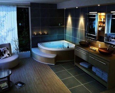 Modern Jacuzzi Bathroom Ideas36