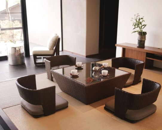 Modern Japanese Living Room Decor04