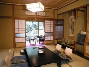 Modern Japanese Living Room Decor14
