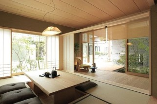 Modern Japanese Living Room Decor20