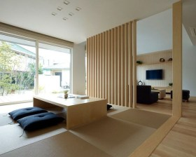 Modern Japanese Living Room Decor26