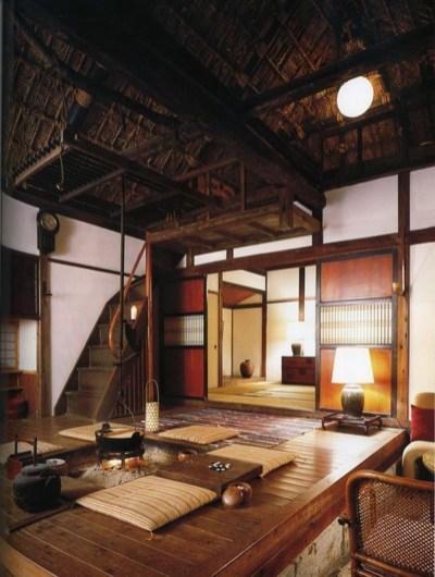 Modern Japanese Living Room Decor35