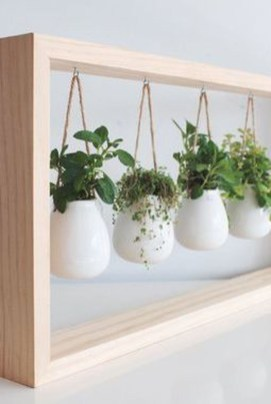 Simple Indoor Herb Garden Ideas For More Healthy Home Air15