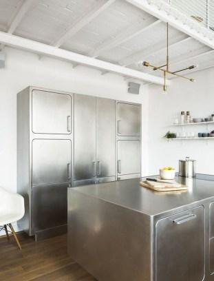 Simple Metal Kitchen Design06