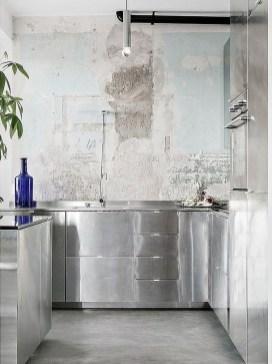 Simple Metal Kitchen Design33