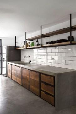 Simple Metal Kitchen Design35