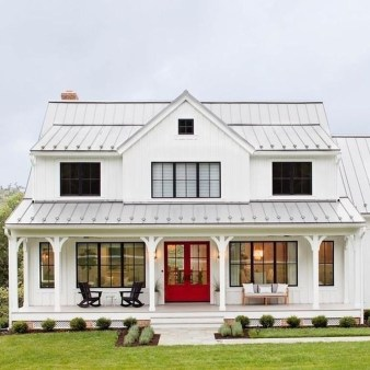 Top Modern Farmhouse Exterior Design Ideas03