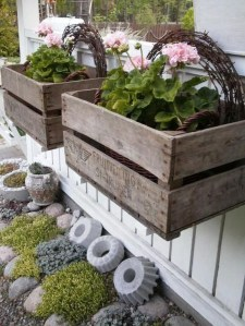 Amazing Ideas For Vintage Garden Decorations For Your Inspiration22
