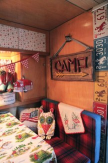 Amazing Rv Decorating Ideas For Your Enjoyable Trip20