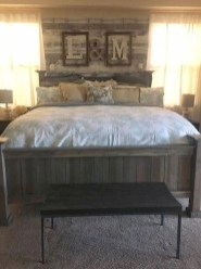 Awesome Diy Rustic And Romantic Master Bedroom Ideas13