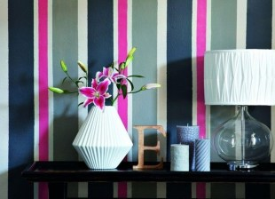 Awesome Striped Painted Wall Design And Decorating Ideas11