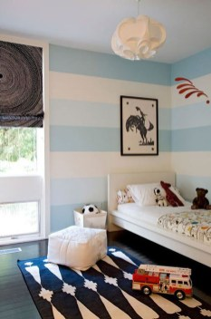 Awesome Striped Painted Wall Design And Decorating Ideas15