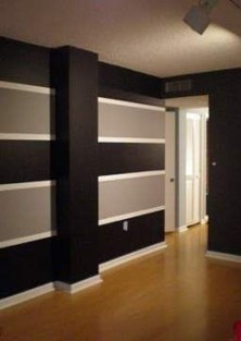 Awesome Striped Painted Wall Design And Decorating Ideas22