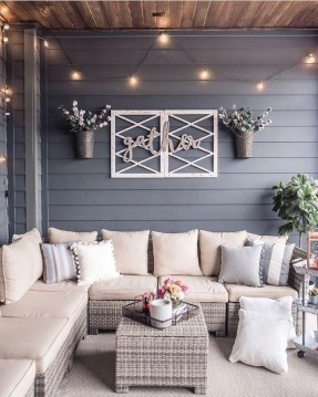 Beautiful Outdoor Living Decoration Ideas33