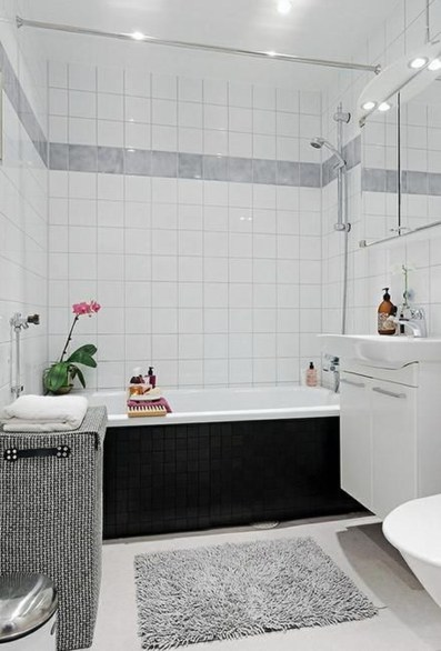 Best Bathroom Decorating Ideas For Comfortable Bath38