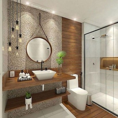Best Bathroom Decorating Ideas For Comfortable Bath39