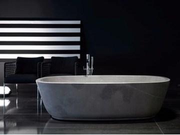 Best Natural Stone Floors For Bathroom Design Ideas29