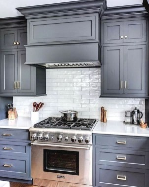 Charming Kitchen Cabinet Decorating Ideas16