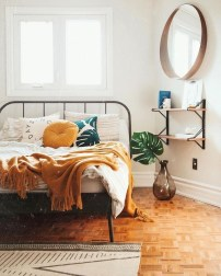 Chic Boho Bedroom Ideas For Comfortable Sleep At Night18