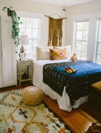 Chic Boho Bedroom Ideas For Comfortable Sleep At Night27