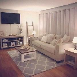 Impressive Apartment Living Room Decorating Ideas On A Budget39